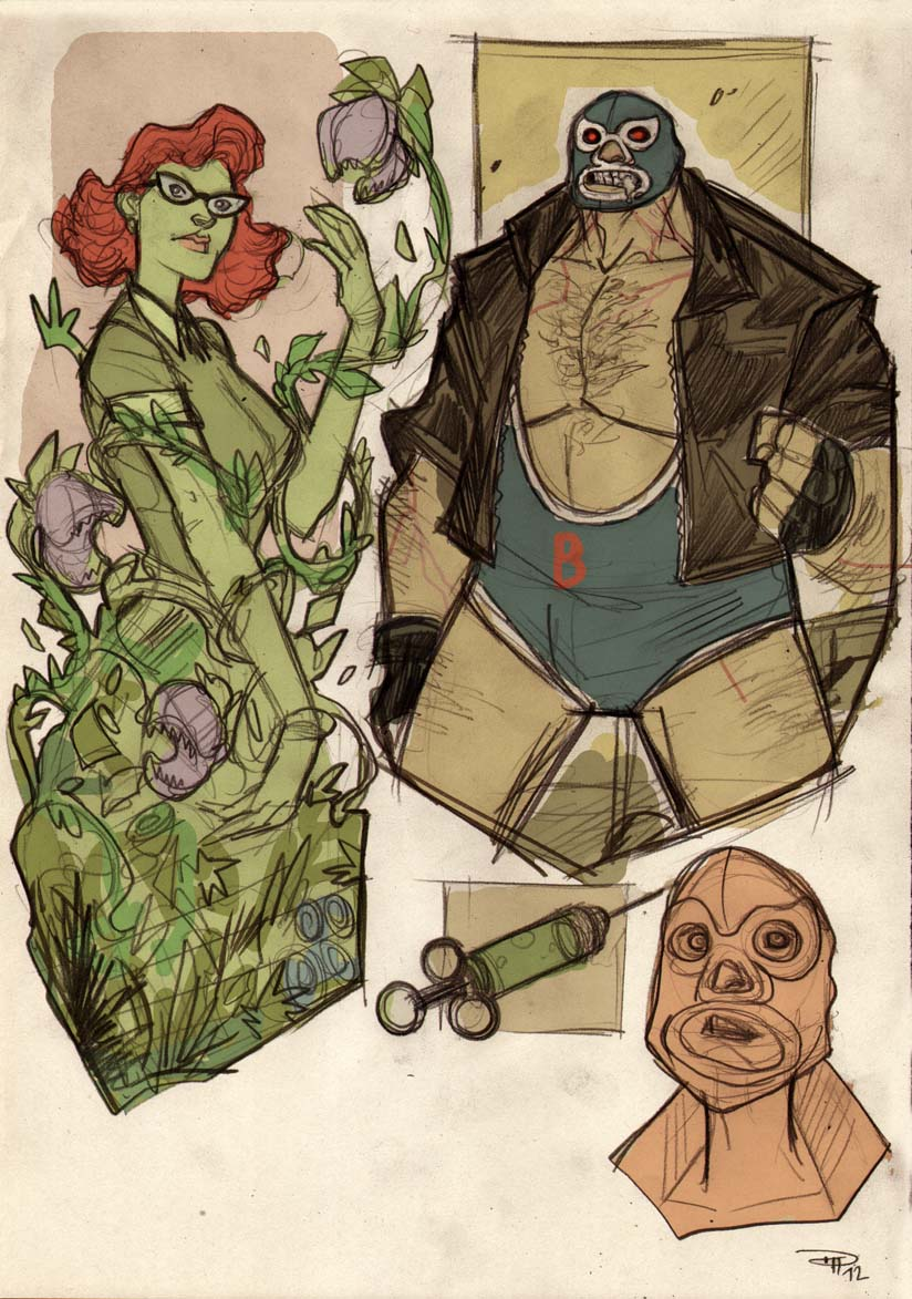Rockabilly Poison Ivy and Bane