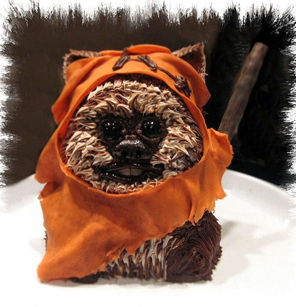 The Cutest & Most Creative Ewok Cake You've Ever Seen