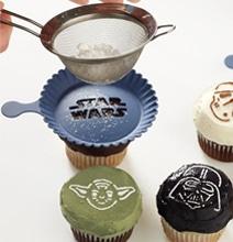 Star Wars Cupcake Stencils For Kitchens In A Galaxy Far Far Away