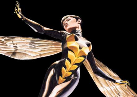 Janet Van Dyne in costume