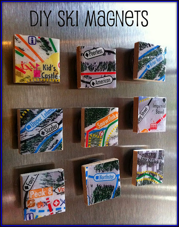 How To Upcycle Vacation Brochures Into Keepsake Magnets