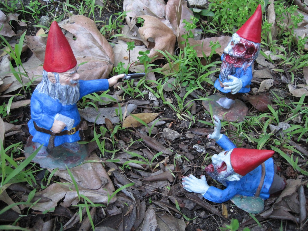 Infect Your Home With Flesh Eating Monster Zombie Gnomes