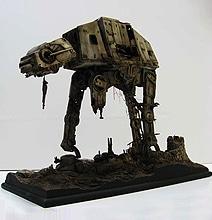 Unreal Deteriorating Star Wars AT-AT Refuge