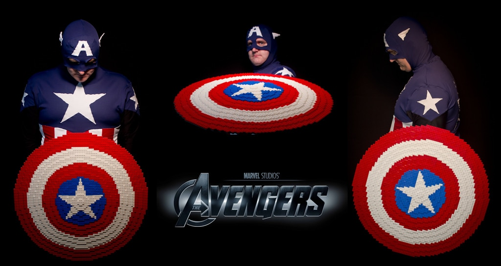 Unearthly Avengers Props All Created Out Of Lego