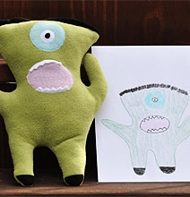 If Children's Drawings Were Made Into Real Toys