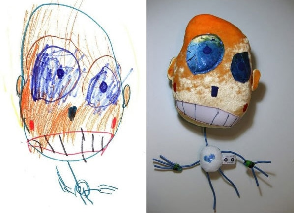 childrens-drawings-as-toys