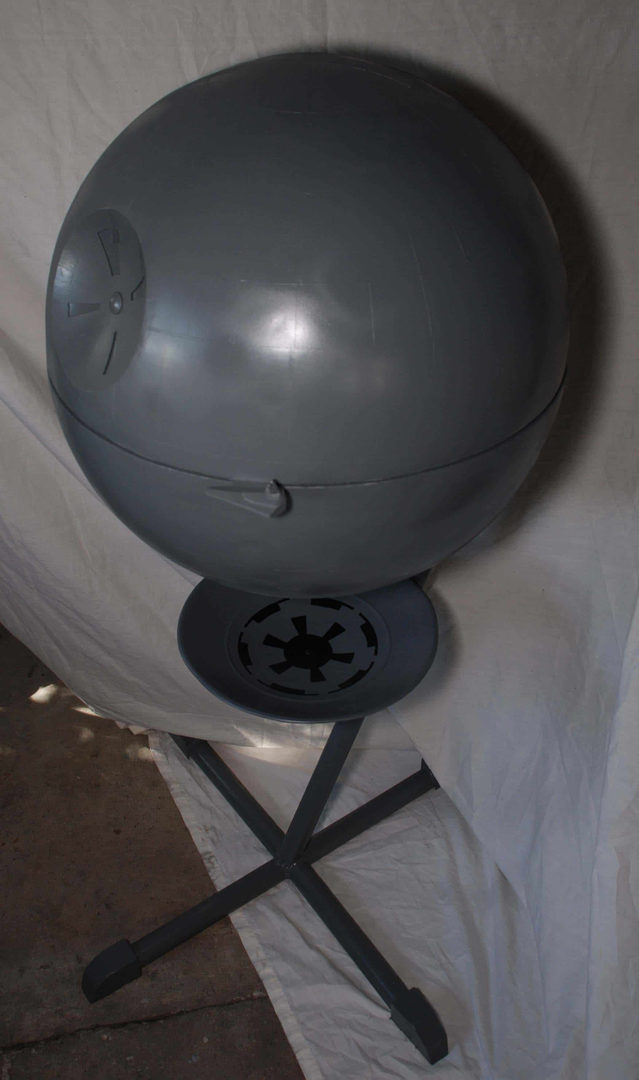 Death Star Grill Turns Your Barbecue Into A Star Wars Adventure