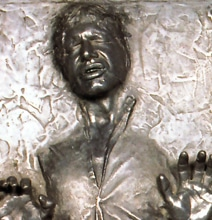 Create Your Own Han Solo Carbon Freezing Star Wars Moment