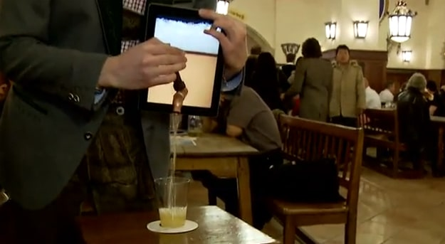 Open Wide… The iPad That Dispenses Beer