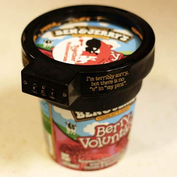 How To Keep Your Ben & Jerry's Ice Cream Safe From Looters