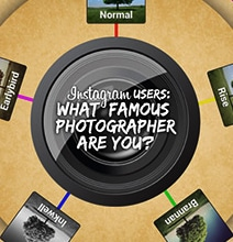 Instagram: What Famous Photographer Are You? [Infographic]