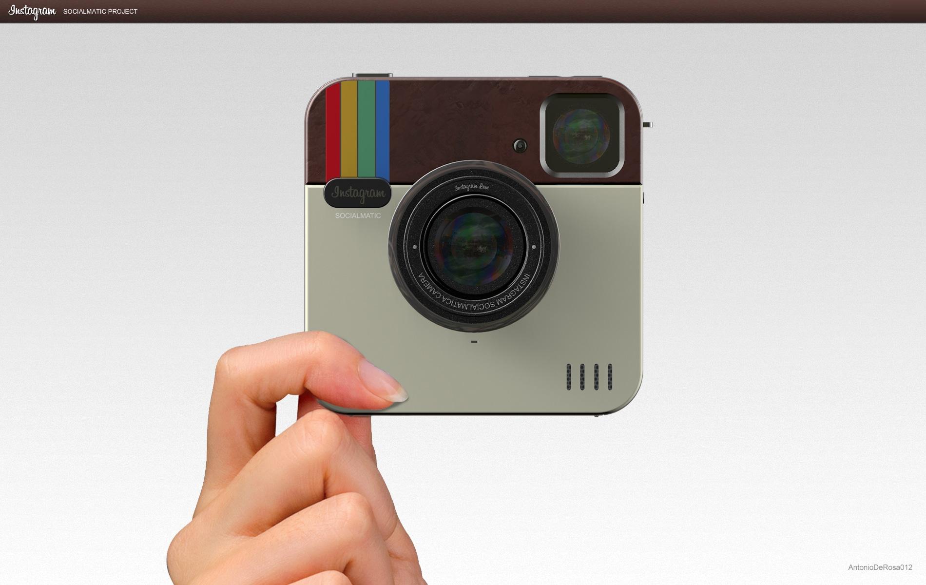 Instagram Concept Camera Mimics The Logo Look