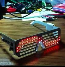 Techie LED Matrix Glasses Will Hypnotize Anyone