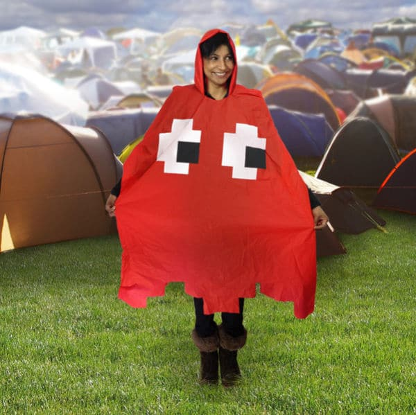 Pac-Man Poncho Will Have You Chasing The Rain