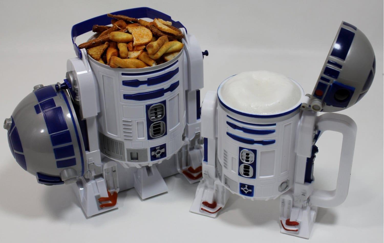 R2-D2 Popcorn Bucket & Soda Set
