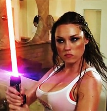 Galactic Groomers Put On The Sexiest Lightsaber Fight Yet