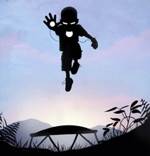 7 Amazing Silhouette Superhero Kids
