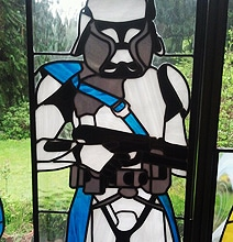 Monumental Star Wars & Star Trek Stained Glass Windows