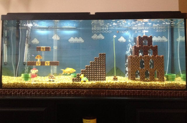 super-mario-aquarium-build
