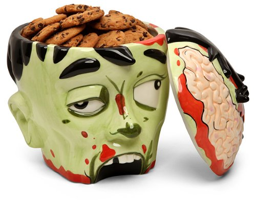 Zombie Head Cookie Jar Makes You A Brain Eater