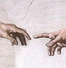 """Pop Culture Art Inspired By Michelangelo's """"The Creation Of Adam"""""""
