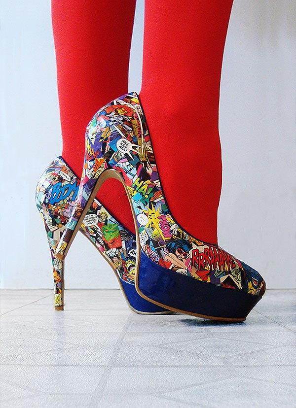 DIY-Comic-Strip-Shoes