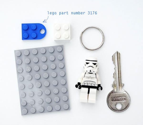 DIY Lego Key Holder: Let A Stromtrooper Guard Your Keys