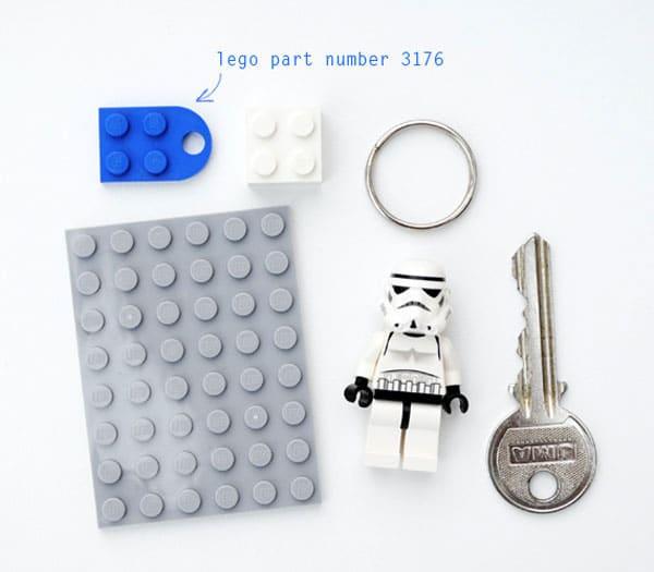 DIY Lego Key Holder: Let A Stromtrooper Guard Your Keys