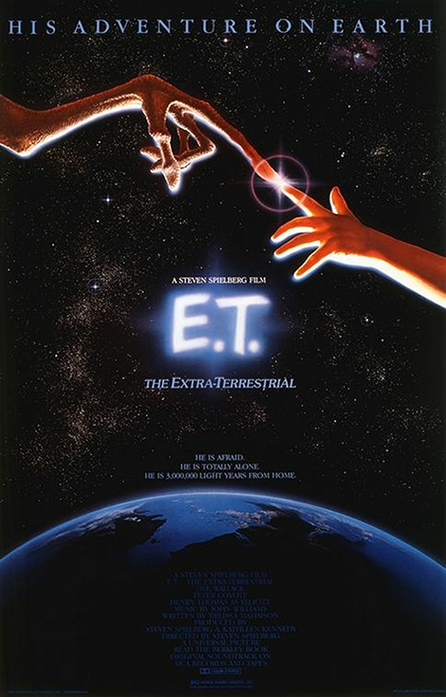 ET Movie Poster Adventure