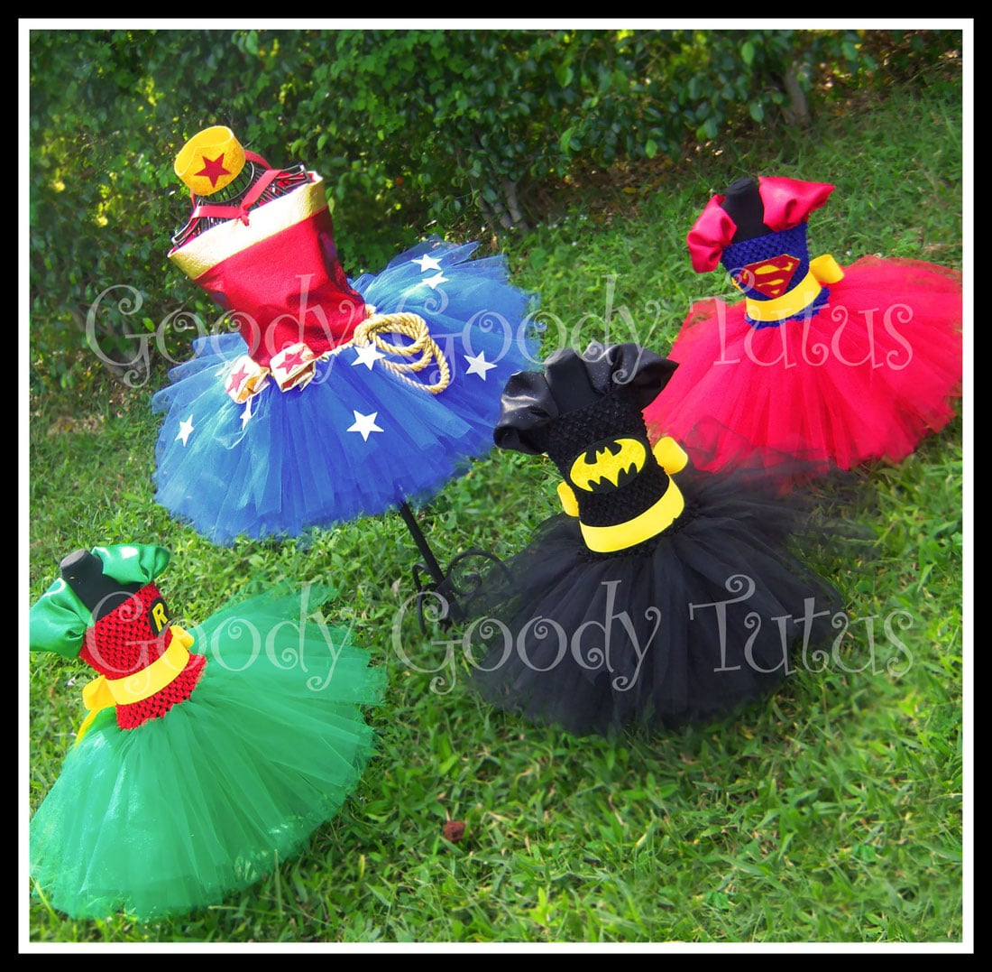 Superhero Tutus: Turn Your Little Princess Into A Superhero