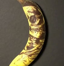 how to properly tattoo a banana. Black Bedroom Furniture Sets. Home Design Ideas