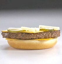 So That's Why It Looks Different: McDonald's Food Photo Shoot