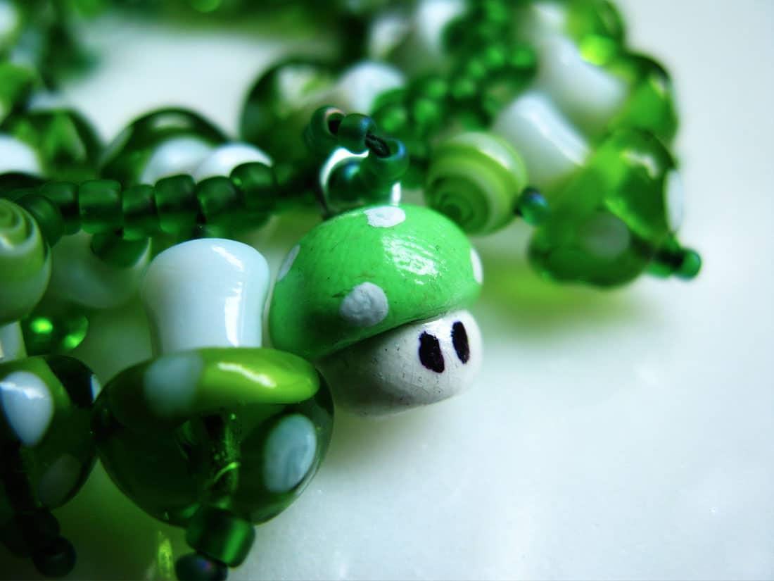 Mario-Mushroom-Charm-Bracelet