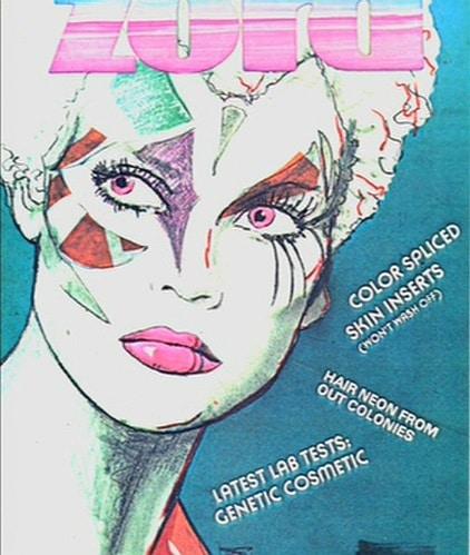 Blade Runner Magazine Cover