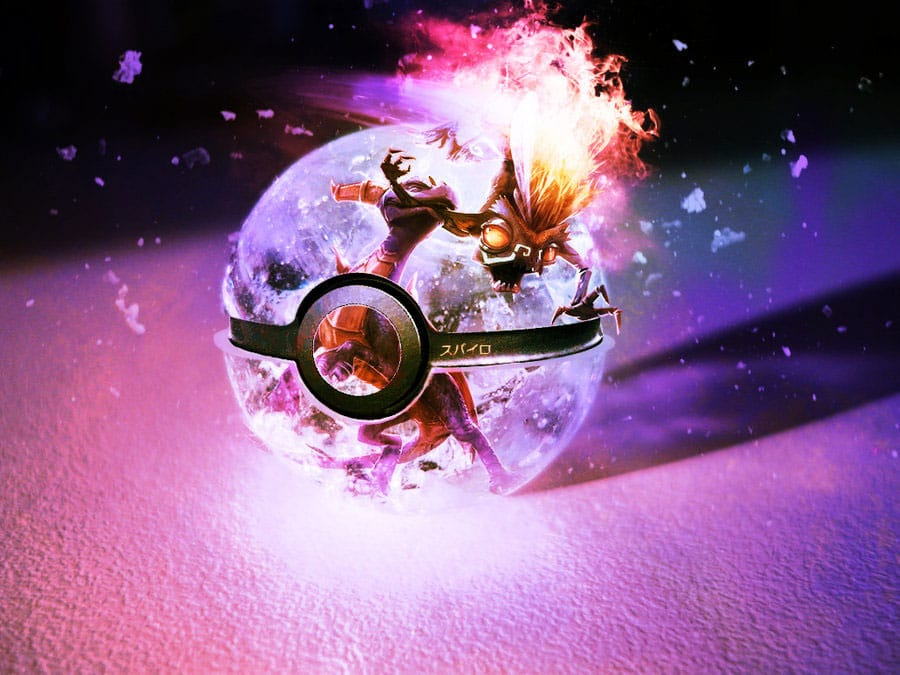 Pokeball-Pokemon-Photoshop-Art
