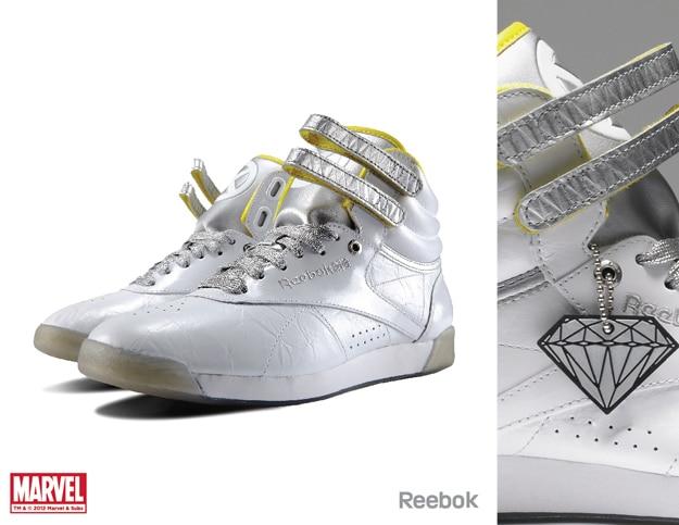 Reebok-X-Marvel-Silver-shoe