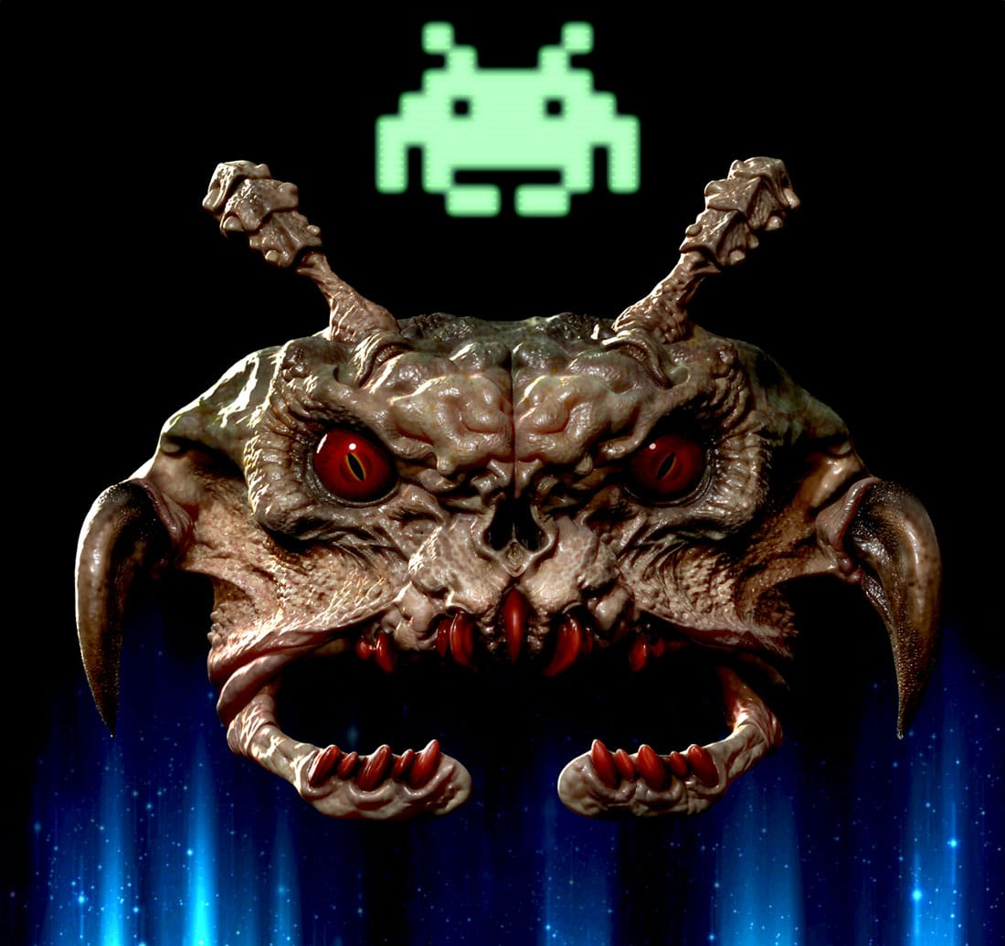 Space-Invaders-Game-Creatures