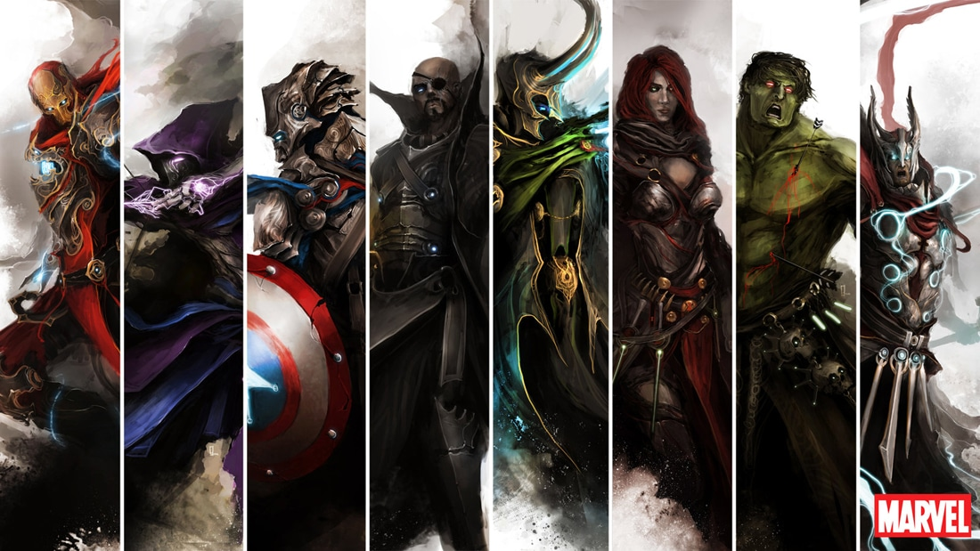 Medieval Avengers: A Wicked Collection Of Fantasy Paintings