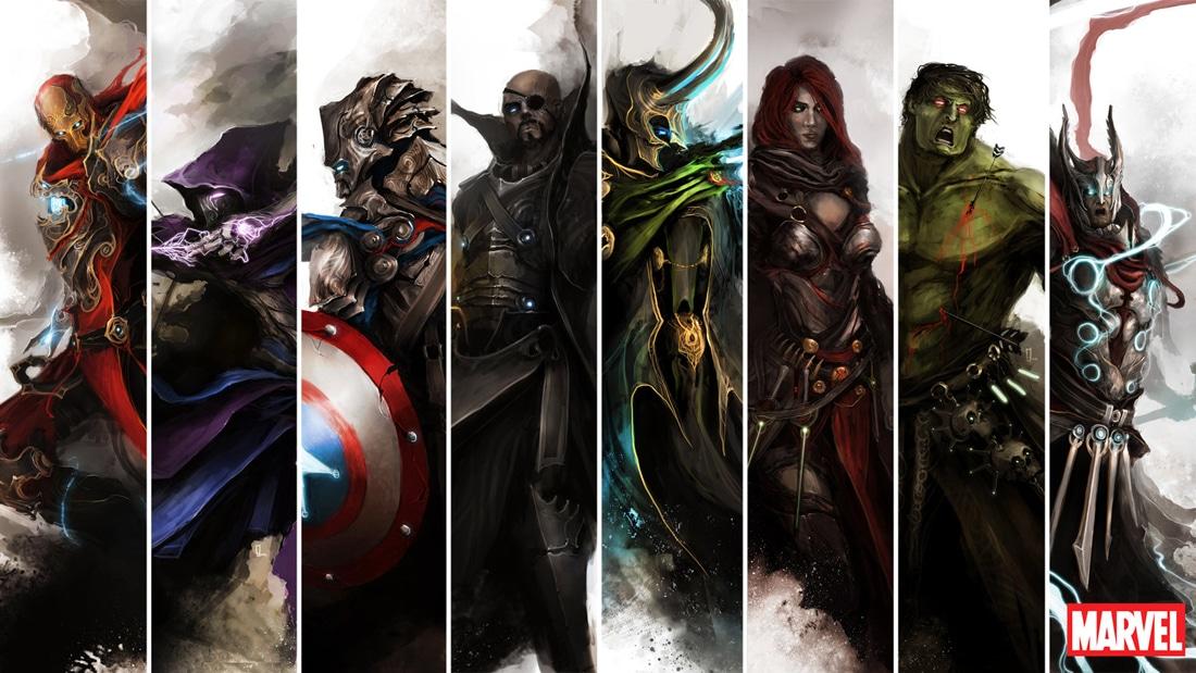The-Avengers-Fantasy-deviantART-Style
