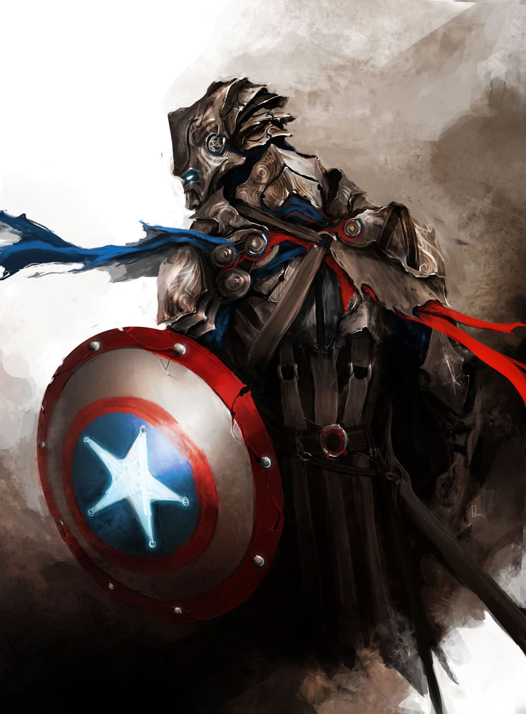 The-Medieval-Avengers-Art