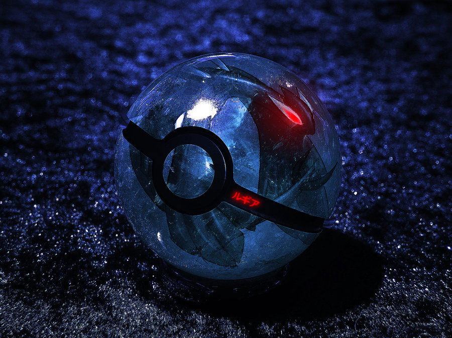 14 Impressive & Inspiring Pokeball Photoshop Creations