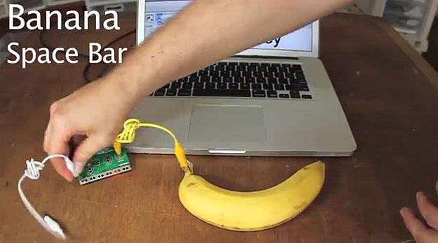 How To Turn A Banana (Or Anything Else) Into A Working Touchpad
