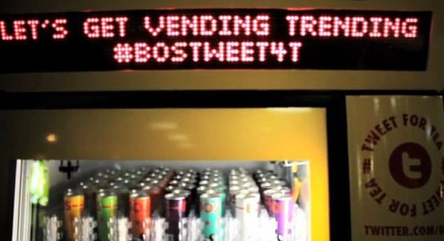 Twitter-Tweet-Vending-Machine