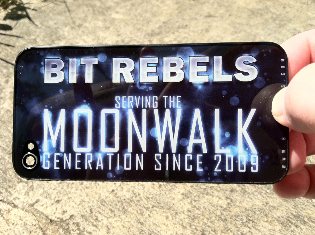 Bit Rebels Glass iPhone Panel Giveaway: Thank You @unYOUsual