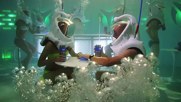An Underwater Nightclub That You'll Wish Was Real