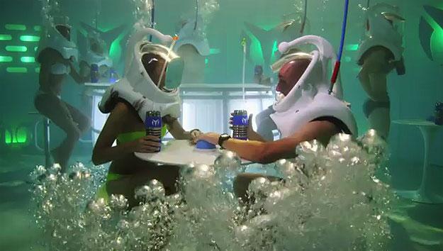 Underwater-Nightclub-Watch-Advertising