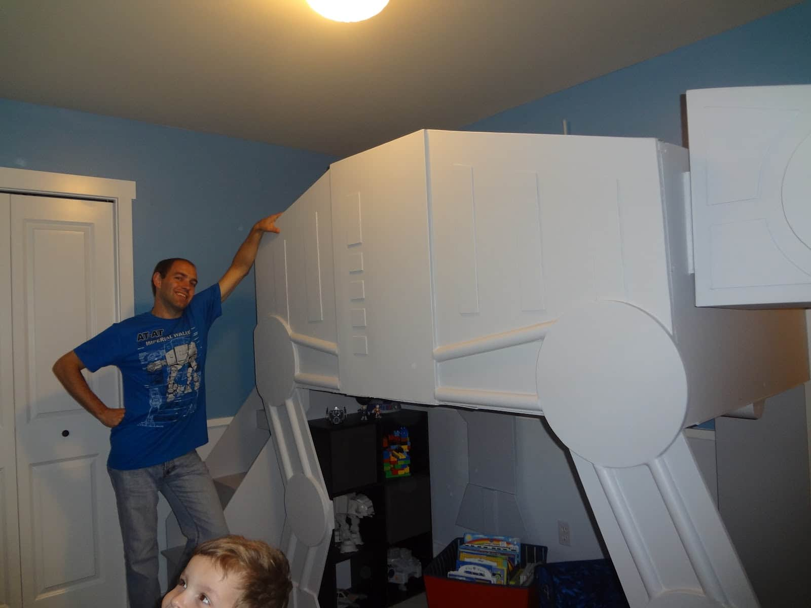 Picture of: Epic Custom Made Star Wars At At Bunk Bed Bit Rebels
