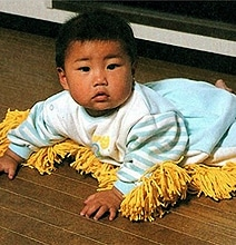 Baby Mop Makes Your House Squeaky Clean
