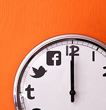 Best Time To Post On Twitter & Facebook [Infographic]