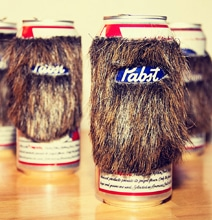 Beer Beard Sleeve Makes Your Can All Cozy